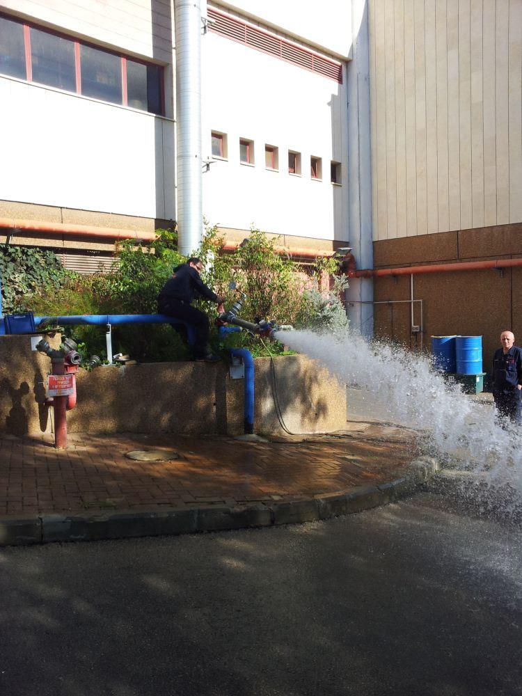 בדיקות אופיין רשת המים שלב 3