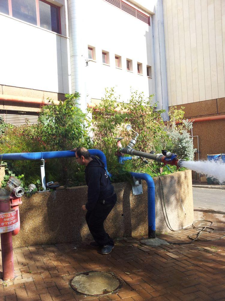 בדיקות אופיין רשת המים שלב 4