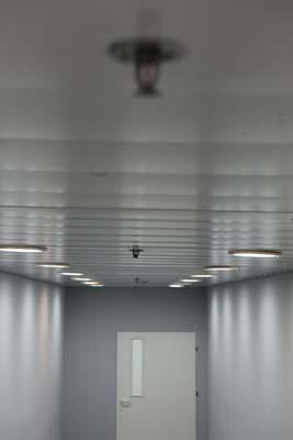 ספרינקלרים בתקרה