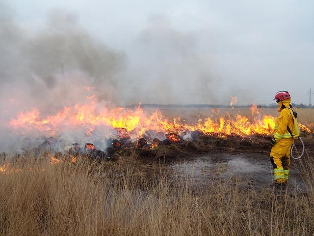 אמצעי זהירות לכיבוי שריפה