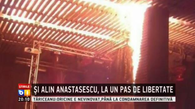 שריפה במועדון ברומניה