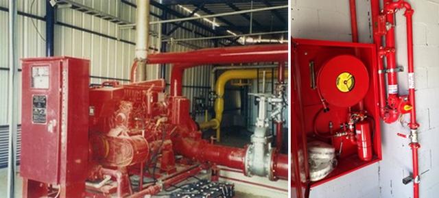 מערכת כיבוי אש למפעלים