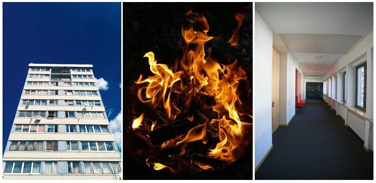 תקנות בטיחות אש בבנייני מגורים